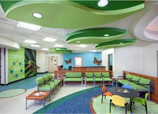 decoración del consultorio pediátrico