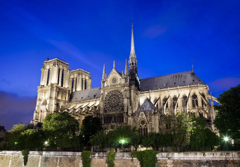 Basílica de Notre Dame Cómo llegar fácilmente a las principales atracciones turísticas de París