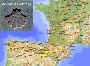 CaminoSantiago 300x219 Consejos útiles para realizar el camino de Santiago