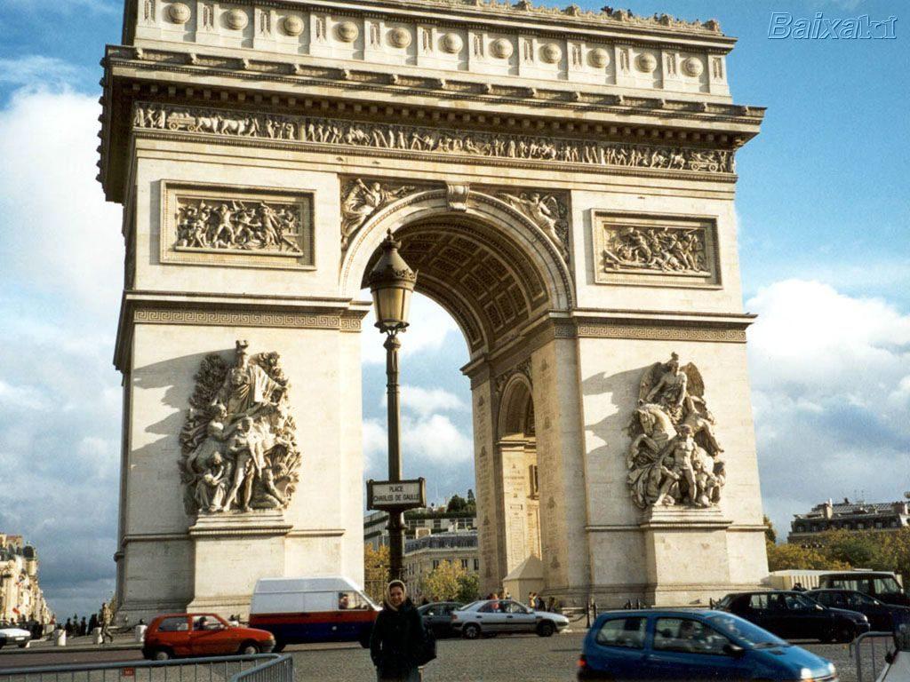 Paris Arco Triunfo 1024x768 Cómo llegar fácilmente a las principales atracciones turísticas de París