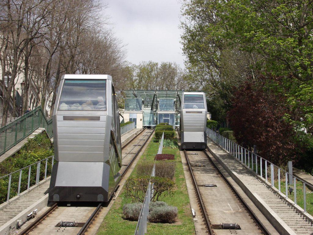 Paris Montmartre funicular 1024x768 Cómo llegar fácilmente a las principales atracciones turísticas de París