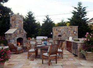 decoraciON terrazas barbacoa 300x222 Tips de decoración para terrazas