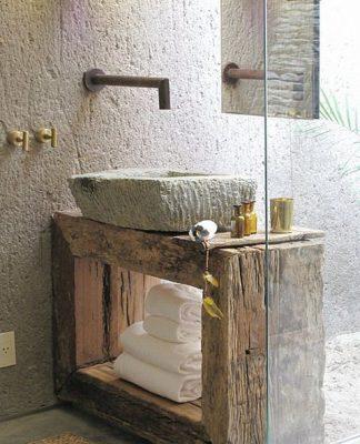 decorar el baño rústico1 324x400 Home
