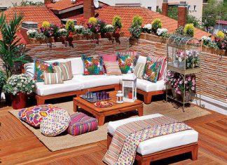 decoración para terrazas