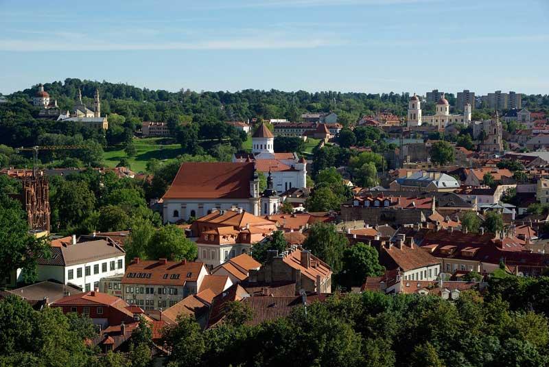 lithuania Vilnius Lituania, un país a visitar en el Báltico