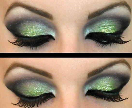 maquillaje de noche 1 Maquillaje de noche: Looks de fantasía