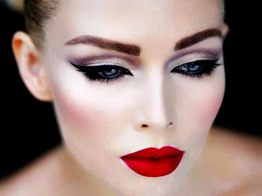 maquillaje de noche Maquillaje de noche: Labios de vampiresa
