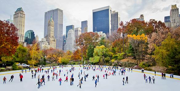 Central Park  Como celebrar el fin de año en Nueva York