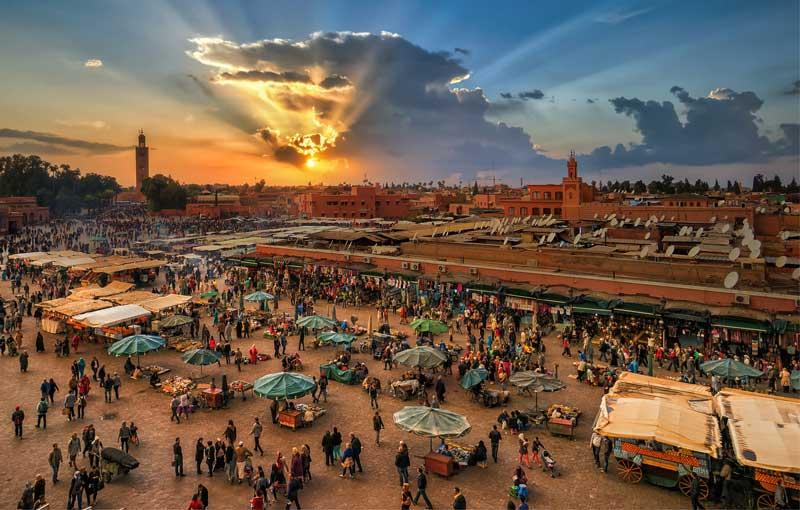 marrakech Marrakech es uno de los destinos turísticos de Marruecos