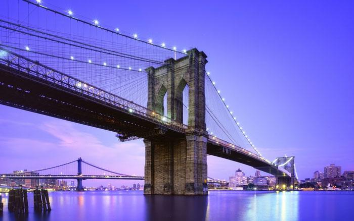 puente de brooklyn Como celebrar el fin de año en Nueva York