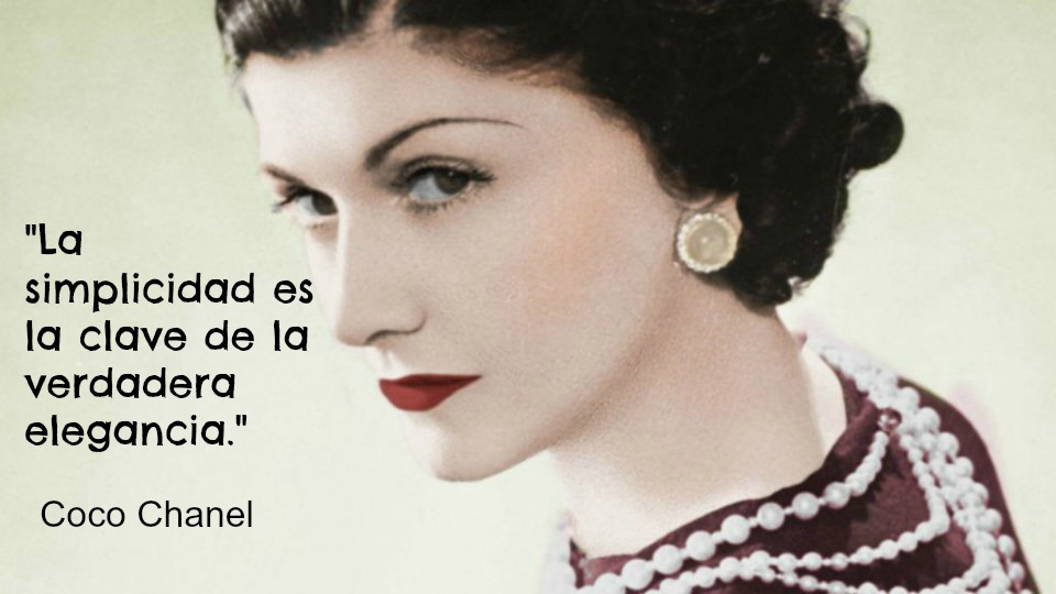 Tendencias Coco Chanel