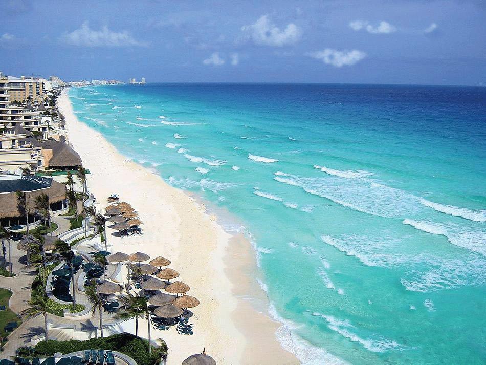 cancun mexico Viaja a México y conoce sus impresionantes playas como Cancún
