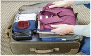 viajas 300x185 Cómo preparar una maleta para un viaje corto