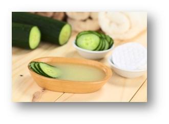 pepino limpieza facial Recetas caseras para la limpieza de la piel