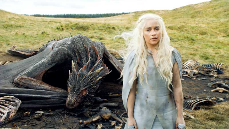Daenerys Game of Thrones Nombres de niñas que nos han traído las series de televisión