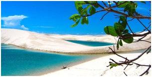 Parque Nacional Lencois Maranhenses 5 destinos turísticos de Brasil que desearas conocer