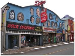 Rock Legends Wax Museum Conoce las Cataratas del Niagara