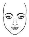 caras triangulares rostros Formas del rostro, ¿Cómo identificar tu forma?