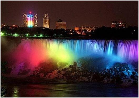 cataratas niagara noche Conoce las Cataratas del Niagara