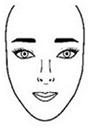 formas rostro cara alargada Formas del rostro, ¿Cómo identificar tu forma?