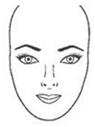 formas rostro cara ovalada Formas del rostro, ¿Cómo identificar tu forma?