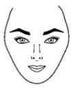 rostros forma corazon Formas del rostro, ¿Cómo identificar tu forma?