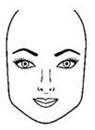 rostros formas cara cuadrada Formas del rostro, ¿Cómo identificar tu forma?