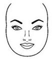 rostros redondos caras redondas Formas del rostro, ¿Cómo identificar tu forma?