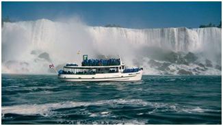 ver cataratas niagara en barco Conoce las Cataratas del Niagara