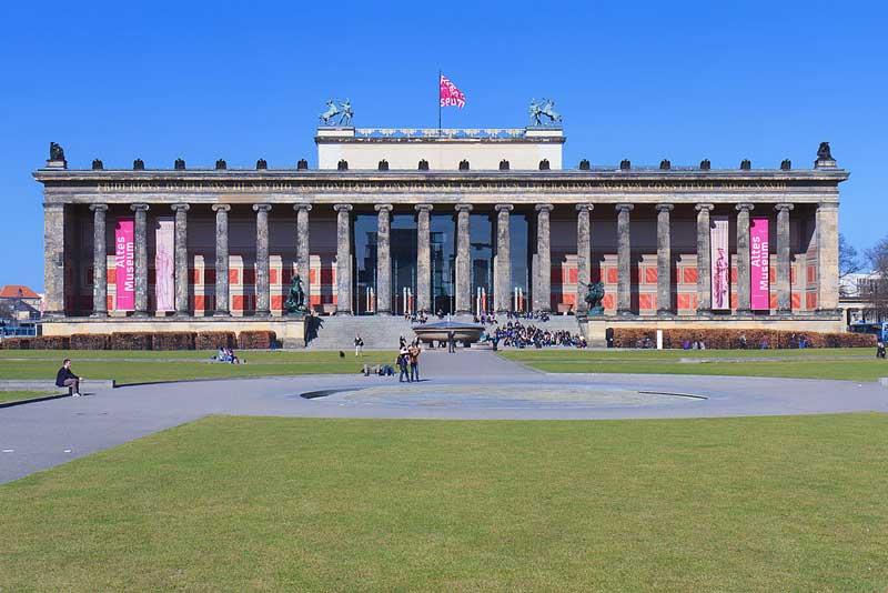Museo Antiguo Isla de los Museos en Berlín