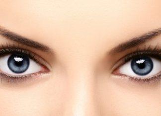 formas de los ojos en la mujer