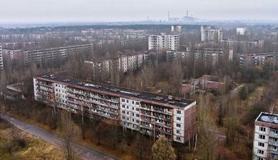 edificios chernobil La ciudad más espeluznante del mundo: Chernobil