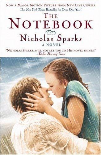 el diario de noa portada novela Diario de Noah: 5 lecciones de amor de película