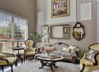 salas clasicas decoracion