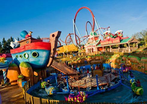parques acuaticos disneyland estados unidos Tres destinos turísticos más populares de Estados Unidos