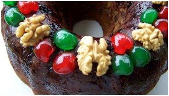 roscon reyes navidad Cómo hacer la verdadera Torta Negra de Navidad
