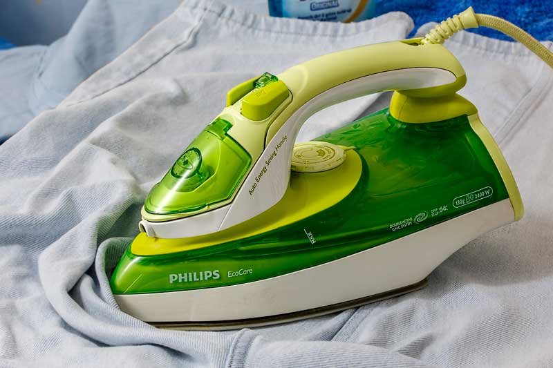 plancha sucia Cómo limpiar la plancha