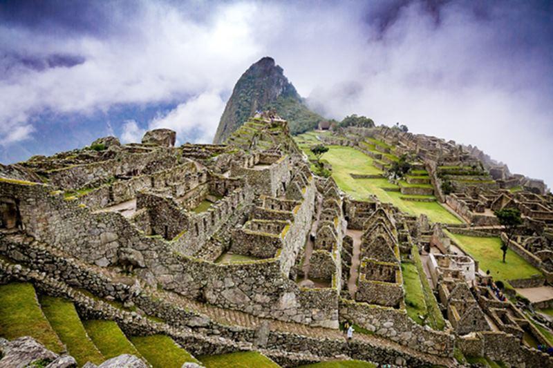 Machu Picchu en America del Sur