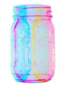 jarra mason lampara 243x300 Cómo hacer lámparas con jarras Mason