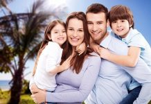 vacaciones en casa en familia