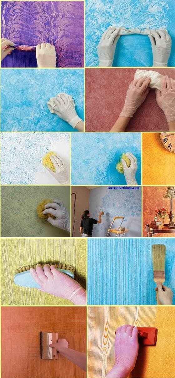 Pintura de paredes 7 ideas para decorar las paredes de tu cuarto