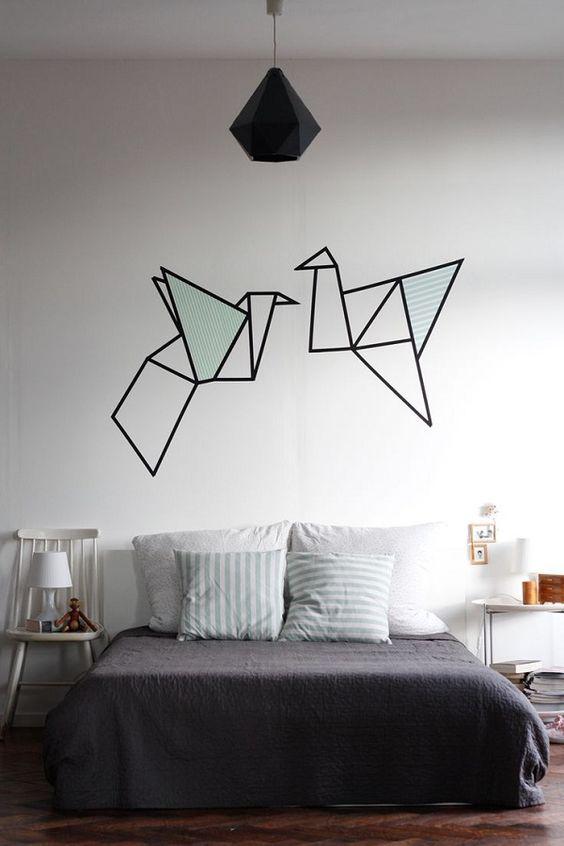 Pintura decorativa pared 7 ideas para decorar las paredes de tu cuarto