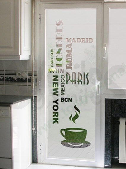 Puerta con vinilo 9 ideas para decorar las puertas interiores de tu casa