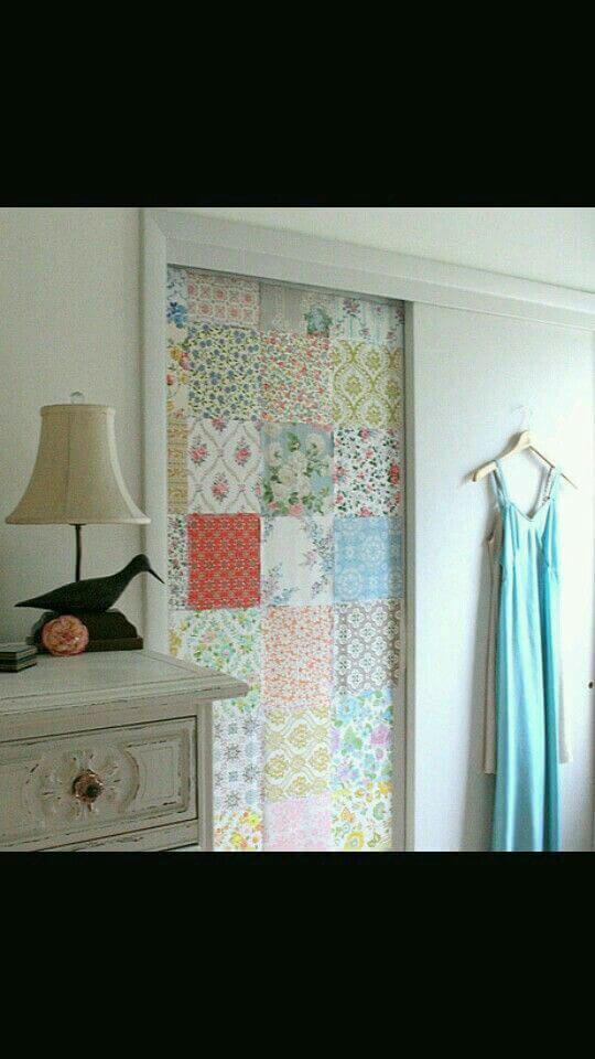 Puerta forrada con tela 9 ideas para decorar las puertas interiores de tu casa