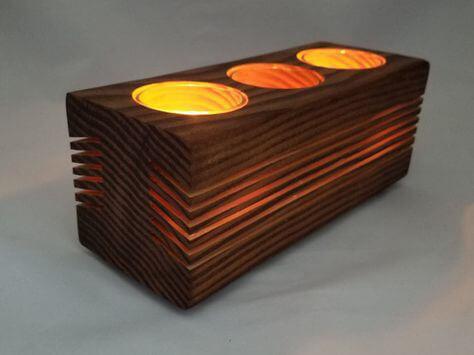 velas con listones de madera 10 ideas para decorar velas