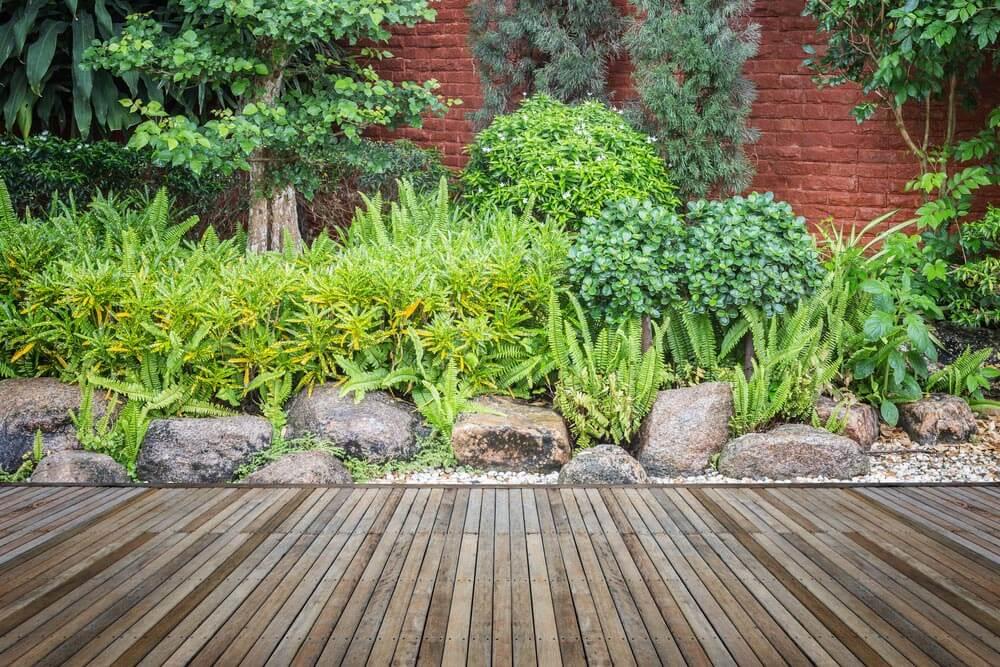 Jardín con plantas en tierra ¿Cómo hacer un jardín bonito sin dejarte el bolsillo en el intento?