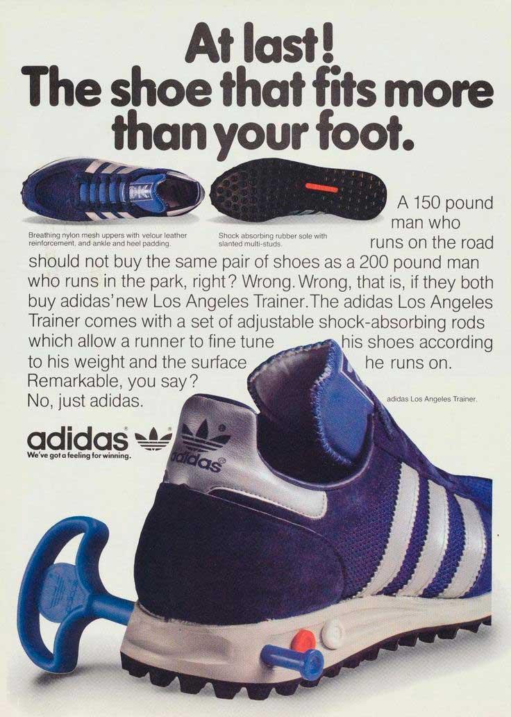 adidas la Moda en calzado deportivo: zapatillas y amortiguación