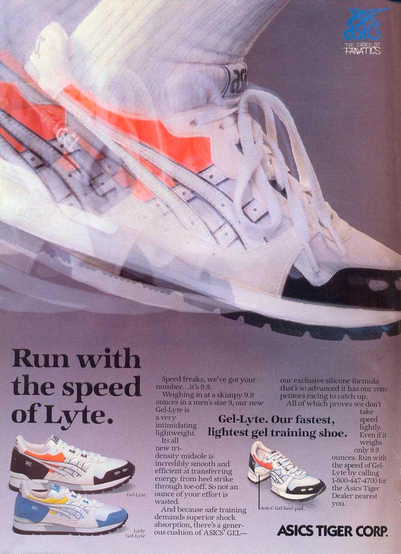 asics lyte 1987 Moda en calzado deportivo: zapatillas y amortiguación