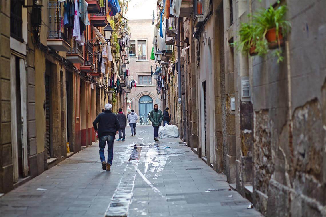 barrio raval Barrios más populares de Barcelona