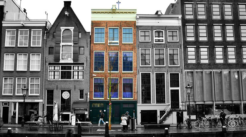 casa ana frank amsterdam
